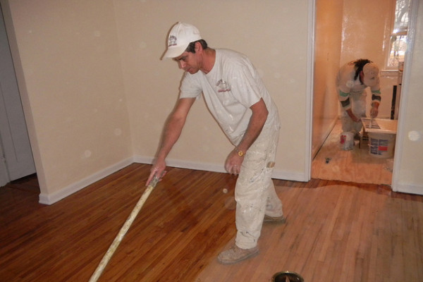 Staining Hardwood Floors